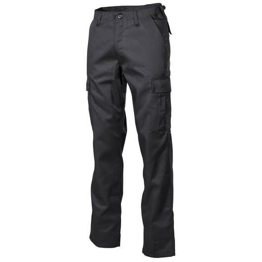 Od pasu dolů-Americké bojové kalhoty, černé