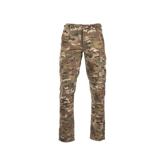 Od pasu dolů-US Polní kalhoty SLIM FIT BDU R/S multitarn®