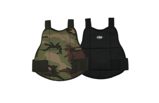 Chrániče-Chest Protector Regular (Woodland/Black)